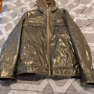 Sonoma faux shiny leather very stylish